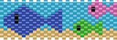 fishies bead pattern