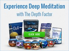 Meditation Techniques Using The Depth Factor