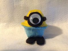 Minion prototype - front view Minions 1, Creamed Eggs, Egg Crafts, Easter, Toys, Easter Activities, Games, Toy, Beanie Boos