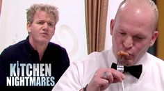 Even The Waiter Has To Spit The Lobster Out! – Kitchen Nightmares - Just what a shame. Nightmare Quotes, Steak And Lobster, Meat Store, Kitchen Nightmares, Chef Gordon Ramsay, Couple Running, Fried Green Tomatoes, Gordon Ramsey, Sad Day