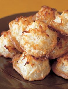 Barefoot Contessa - Recipes - Coconut Macaroons. Caution Salt, might want to use less than 1/4 teaspoon, found batter salty. Enjoyed the pre packaged mix more, better tecture.