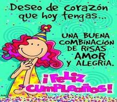 Feliz cumpleaños Dios te bendiga,
