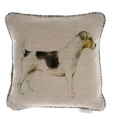 Voyage Jack Russell Cushion