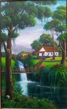 Gardens Discover - Travel tips - Travel tour - travel ideas Scenery Paintings Indian Art Paintings Nature Paintings Beautiful Paintings Beautiful Landscapes Landscape Art Landscape Paintings Landscape Drawing Tutorial Cottage Art Scenery Paintings, Indian Art Paintings, Nature Paintings, Beautiful Paintings, Landscape Drawing Tutorial, Landscape Drawings, Landscape Art, Landscape Paintings, Beautiful Landscape Wallpaper