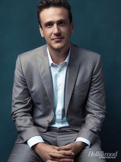 Jason Segel at THR's Comic-Con Photobooth the most attractive thing a man can do…