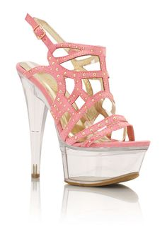 I don't usually like stripper shoes but these are a little bit of wonderful. <3