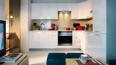 Black Red White - kuchnia Family Line  #brw #blackredwhite #furniture #retro #interior #interiordesign #inspiration #home #homeinspiration #design #homedecor #decoration #homedecoration #kitchen #white #kitchendesign