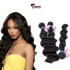 Loose Wave Hair 3 piece set Curtains at Wholesale Rate - - Deep Wave Weave, Buy Hair Extensions, Loose Waves Hair, Malaysian Hair, Virgin Hair, 3 Piece, Wigs, Curtains, Blinds