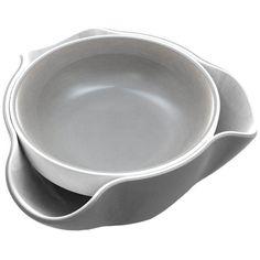 Joseph Joseph Double Dish Gray & White