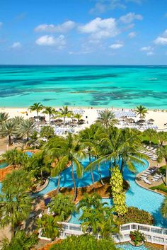 At this all-inclusive on Cable Beach in Nassau, Bahamas, you'll enjoy lovely accommodations that offer a private terrace or balcony to witness gorgeous ocean, pool or island views. #AskMeDestinationWeddings