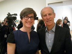 MoMA curators Leah Dickerman and Glen Lowry