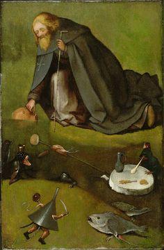 La tentazione di Sant'Antonio, il Bosch inedito
