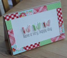 Blush Crafts: Patchwork frame with washi tape...