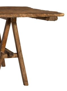 Teldi Farm Table | From a unique collection of antique and modern farm tables at http://www.1stdibs.com/furniture/tables/farm-tables/