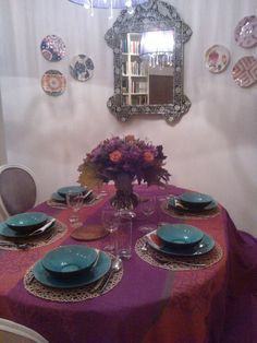 Our dining room in Warszawa :)
