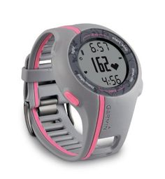 WRIST | Garmin Forerunner 110 GPS-Enabled Sport Watch with Heart Rate Monitor (Pink)