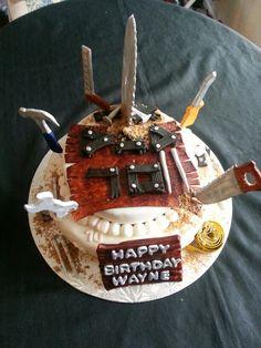Woodworking Birthday Cake John