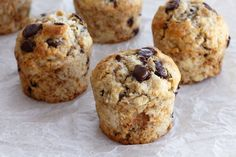 Banana and Chocolate Muffins | Lil' Cookie