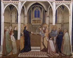 Presentation of Christ in the Temple, 1311-1320 - Giotto