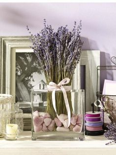 Wir lieben Lavendel und ganz besonders diese hübsche Deko-Idee!
