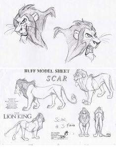 AndreaDejas-LionKing-1 ★ || CHARACTER DESIGN REFERENCES…