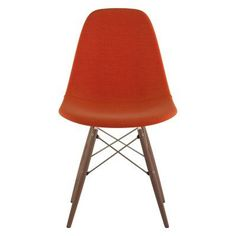 Nyekoncept Mid Century Dowel Dining Side Chair Lava Red - 331004EW2