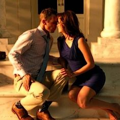 Love this shot. Even though it's from a promo for a TV show, it still would be a fun, hot shot to do! Definitely want an engagement photo like this!