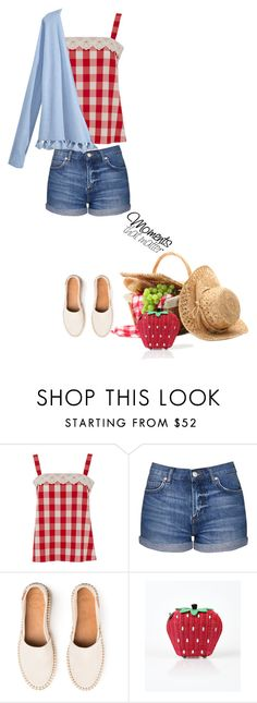"""""""Let's Go On a Picnic'"""" by dianefantasy ❤ liked on Polyvore featuring Lowie, Topshop and Calypso St. Barth"""