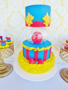 Snow White Themed Party by Cakes by Joanne Charmand