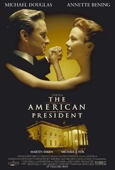 The American President : 1995 Michael Douglas playing American President...