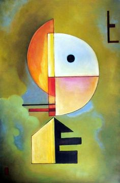 by Wassily Wassilyevich Kandinsky was an influential Russian painter and art theorist. He is credited with painting one of the first purely abstract works. Kandinsky Art, Wassily Kandinsky Paintings, Henri Matisse, Art Texture, Cubism Art, Oeuvre D'art, Painting & Drawing, Art History, Abstract Art