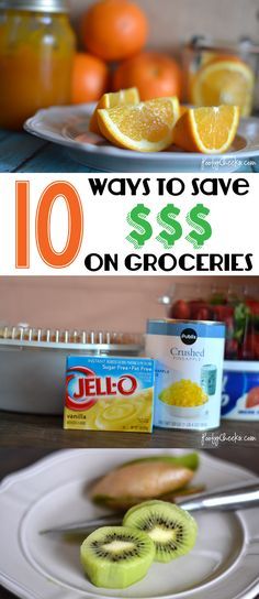 10 Ways to Save Money on Groceries - Tips from a mom of four!
