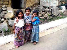 Girls in San Pedro, Guatemala