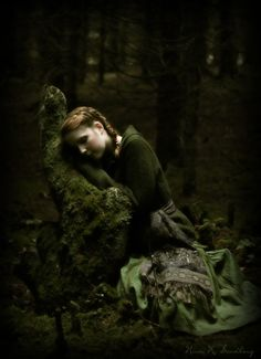 don't be afraid, grimm's girl lost so far in the dark wood. don't fear..