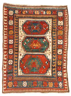 Lot | Sotheby's A Kazak Rug late 18th c