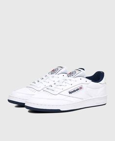47aef7cf82c1 Reebok - Club C 85 White  Navy - SOTO Berlin