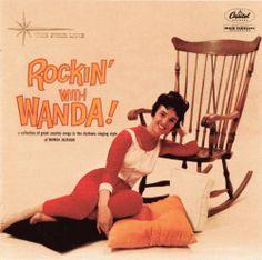 """Wanda Jackson, """"Rockin' With Wanda!"""" (1960)"""