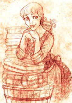 Cinderella by *MistyTang on deviantART