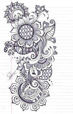Henna Design 1 by ~iLoveKyu on deviantART