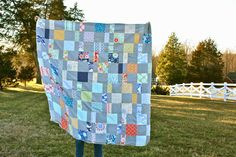 My Go-Go Life: The Charm Pack Cherry Quilt from Fat Quarter Shop