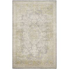 Bonaparte Grey/Green Rug ClassicLiving Rug Size: Rectangle 200 x Lohals, Polyester Rugs, Rug Material, Textiles, Pink Rug, Traditional Rugs, Room Rugs, Rugs Online, Rug Making
