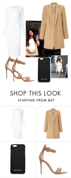 """""""Kim"""" by angelica1perez ❤ liked on Polyvore featuring Getting Back To Square One, Miss Selfridge, MICHAEL Michael Kors and Gianvito Rossi"""