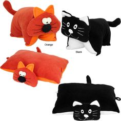 Sweet Cat Fleece Pillow at The Animal Rescue Site