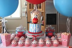 Luke's First Birthday Circus | Project Nursery