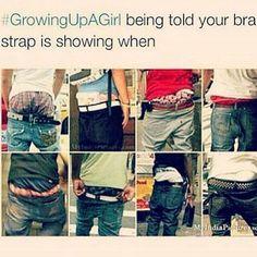 #growingupagirl #doublestandard