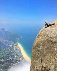 Rio de Janeiro / one fart from plummeting 1000's of feet to earth