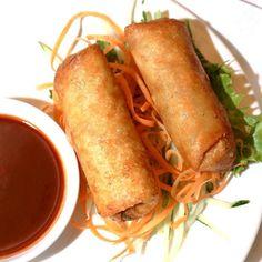 Spring roll shrimp / vegetable