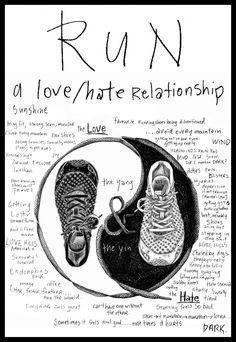 I love running even when I don't do Running.