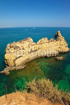 http://www.facebook.com/PauloBaptistaERA  Cliffs at Algarve beach, south of Portugal