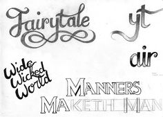 Calligraphic tryouts 03